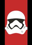 First Order Stormtrooper Helmet Vector - Star Wars