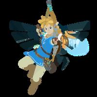 Link - Legend of Zelda Breath of the Wild - Vector by firedragonmatty