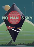 No Man's Sky Typography - Vector Art by firedragonmatty