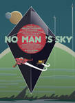 No Man's Sky Typography - Vector Art