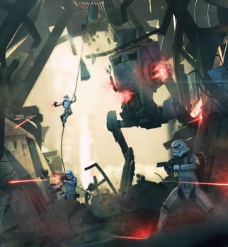 Assault - Star Wars Poster [Source Filmmaker] by firedragonmatty