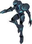 Dark Samus - 04e : Smash Bros Ultimate -Vector Art