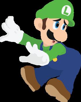 Luigi - 09 : Smash Bros Ultimate - Vector Art