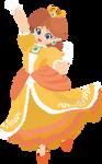Daisy - 13e : Smash Bros Ultimate - Vector Art