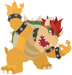 Bowser - 14 : Smash Bros Ultimate - Vector Art by firedragonmatty