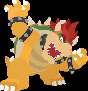 Bowser - 14 : Smash Bros Ultimate - Vector Art