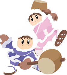 Ice Climbers - 15 : Smash Bros Ultimate - Vector by firedragonmatty
