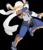 Sheik - 16 : Smash Bros Ultimate - Vector Art by firedragonmatty