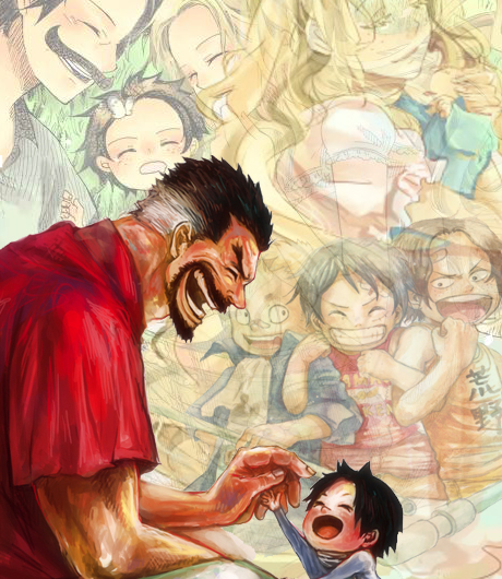 One Piece Art: One Piece Fan Art Collect And SP AustriaPiri Story By