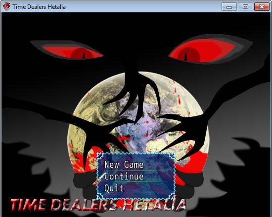 Time Dealers Hetalia - Title Screen by Rustic-Hawk