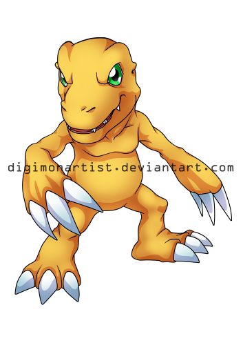 Agumon by DigimonArtist