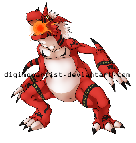 Growlmon by DigimonArtist