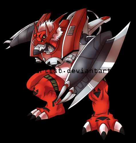 MegaloGrowmon by DigimonArtist