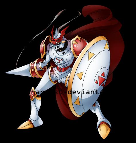 Dukemon by DigimonArtist