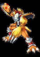 WarGreymon by DigimonArtist