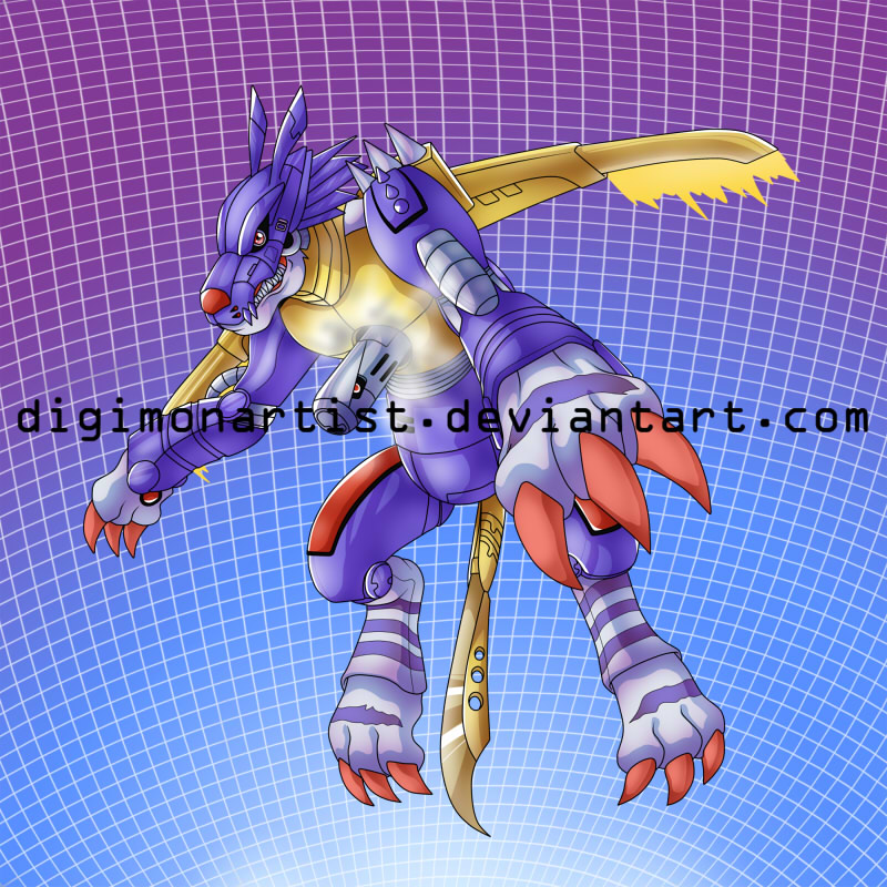 MetalGarurumon by DigimonArtist