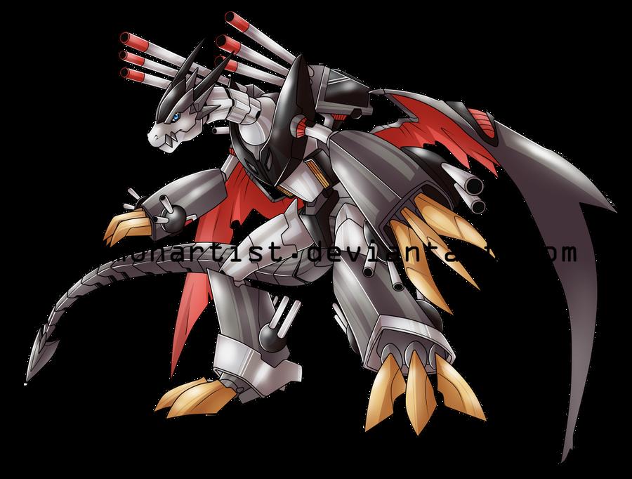 MetalRyumon by DigimonArtist
