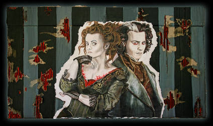 Sweeney Todd - Mrs Lovett by PiratePrincessElayne