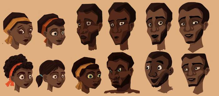 Character Sheet Humans - Hunted