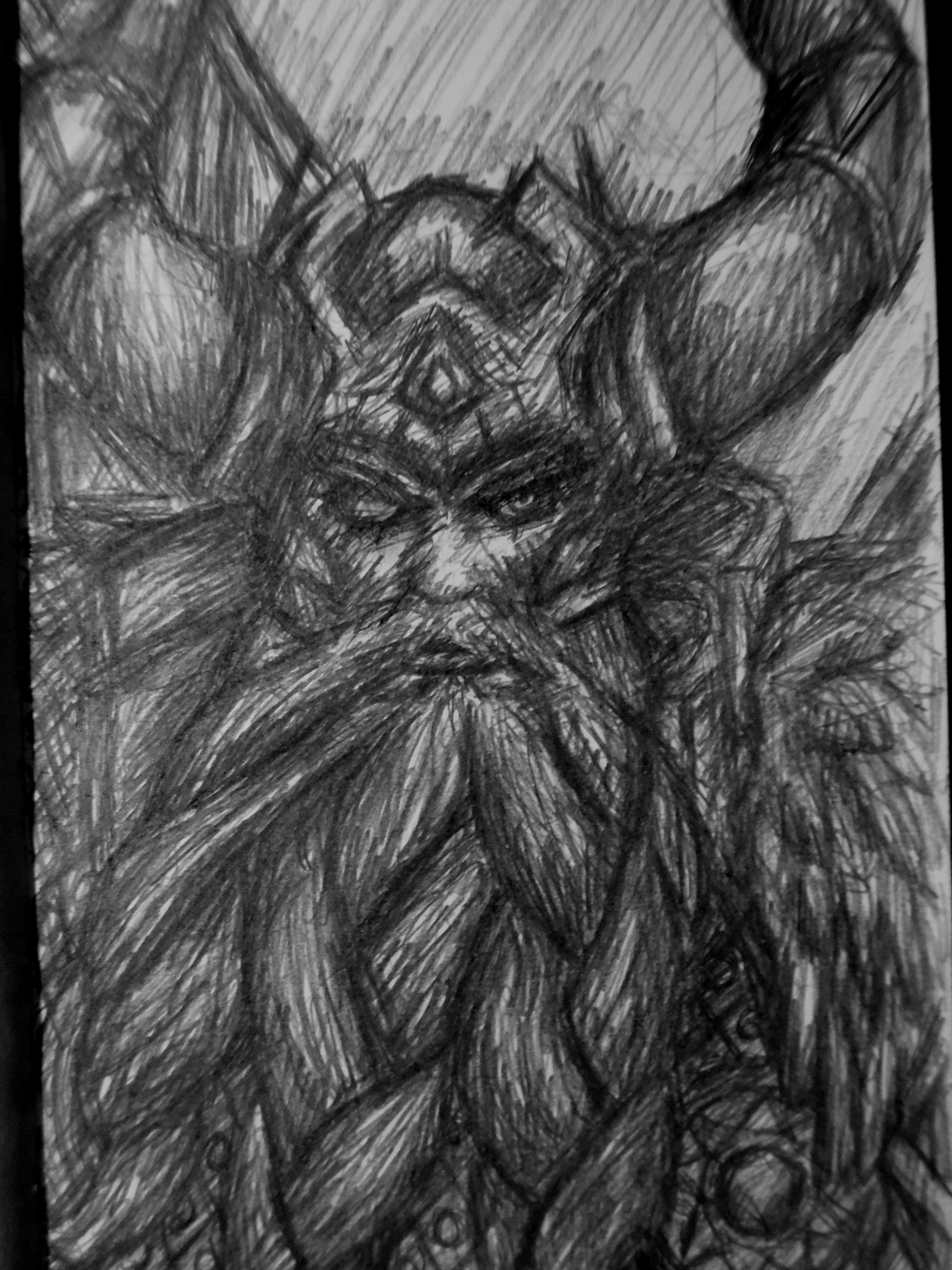 Odin - Smite by DerBananenMann on DeviantArt