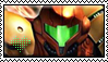 Stamp: Samus Aran by Tee-J