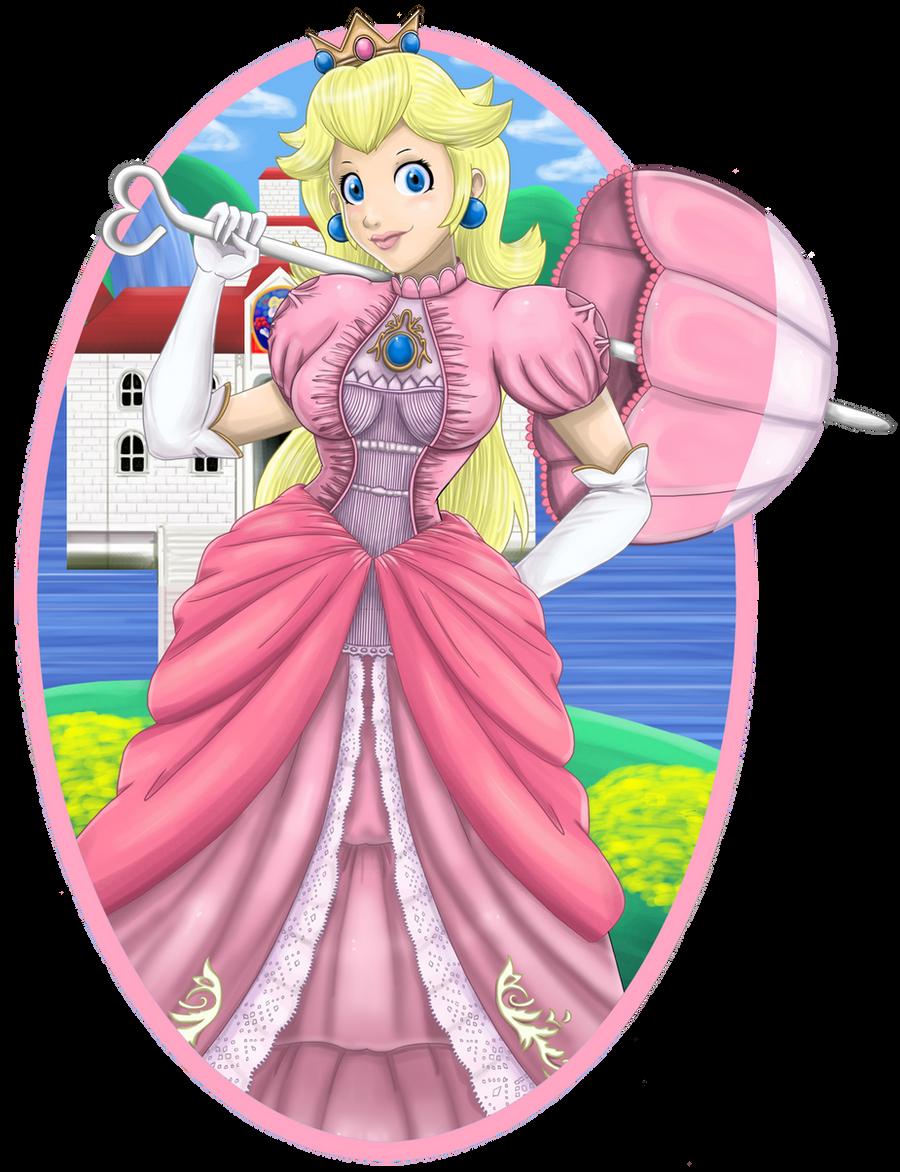 Princess Peach By Tee J On DeviantArt