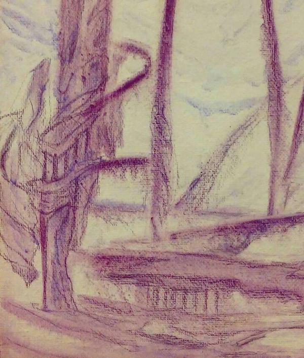 spire by Crane-of-Winter