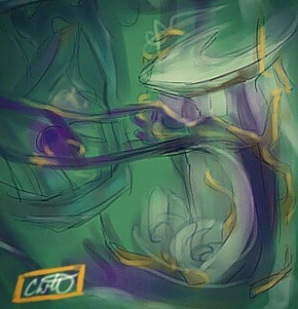 dizzy spell [sketch] by Crane-of-Winter