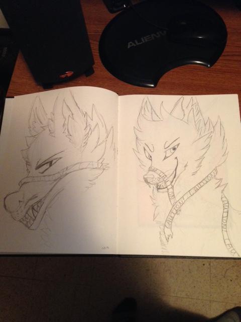 Re-draw #2 by kiecothewolf03