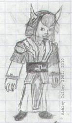 Grace Sketch 2001 by cullsoft