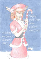 Grace - Happy New Year 2015 by cullsoft