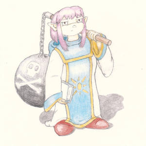 Prim (Concept sketch for Shining Soul 2 comic)