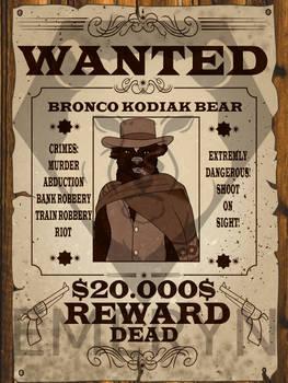 WANTED YCH Bronco kodiak bear