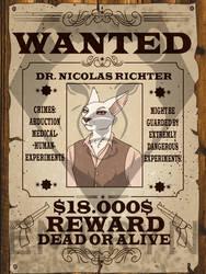 WANTED Nicolas