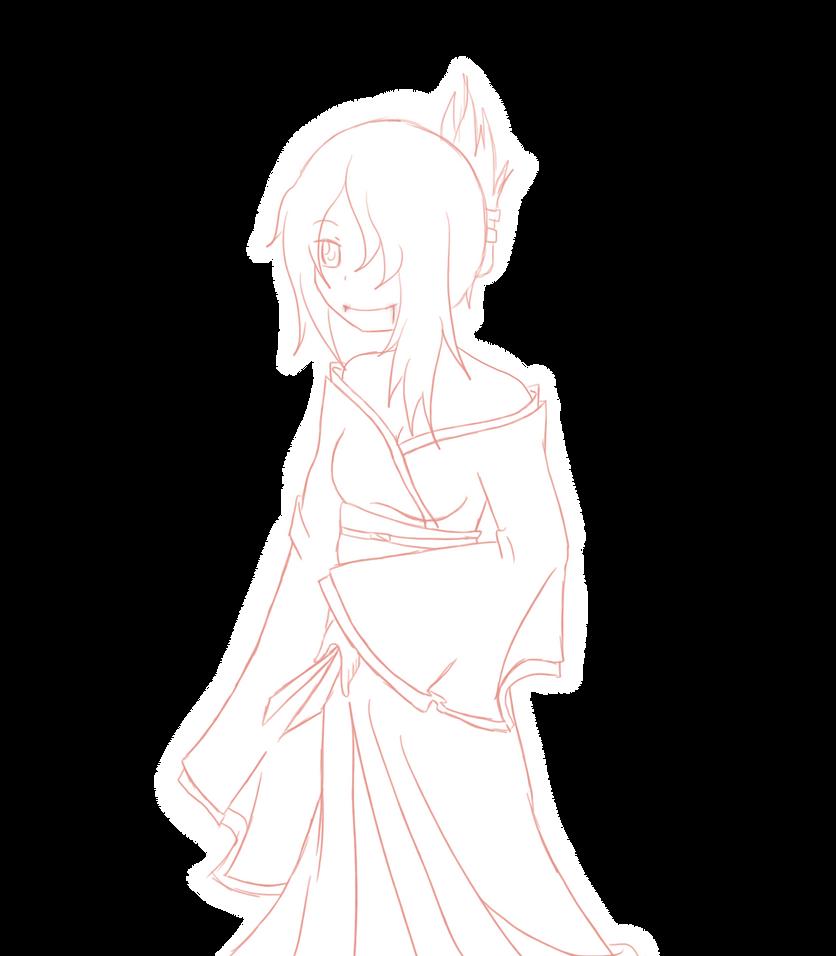 Kimono by naeginopins
