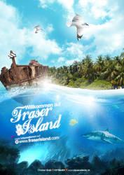 Fraser Island Poster by GGROCA