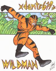 xdante619's Wildman by twigstudios