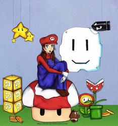 Mario Bros Fan by Brubruja