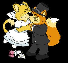 Wedding Bells on a Good Fur Day by StretchNSnort