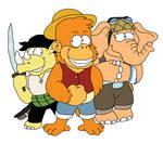 Monkey D. Lazlo and Crew