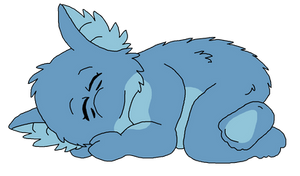 Little Sleepy Baby Lepis by StretchNSnort