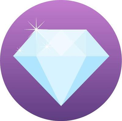 Diamond symbol by starkeygraphics