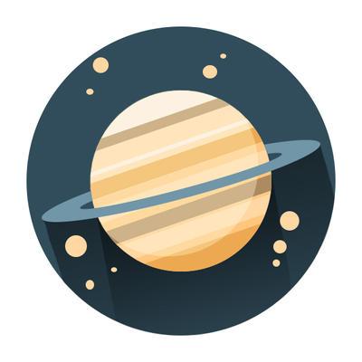 Planet symbol by starkeygraphics