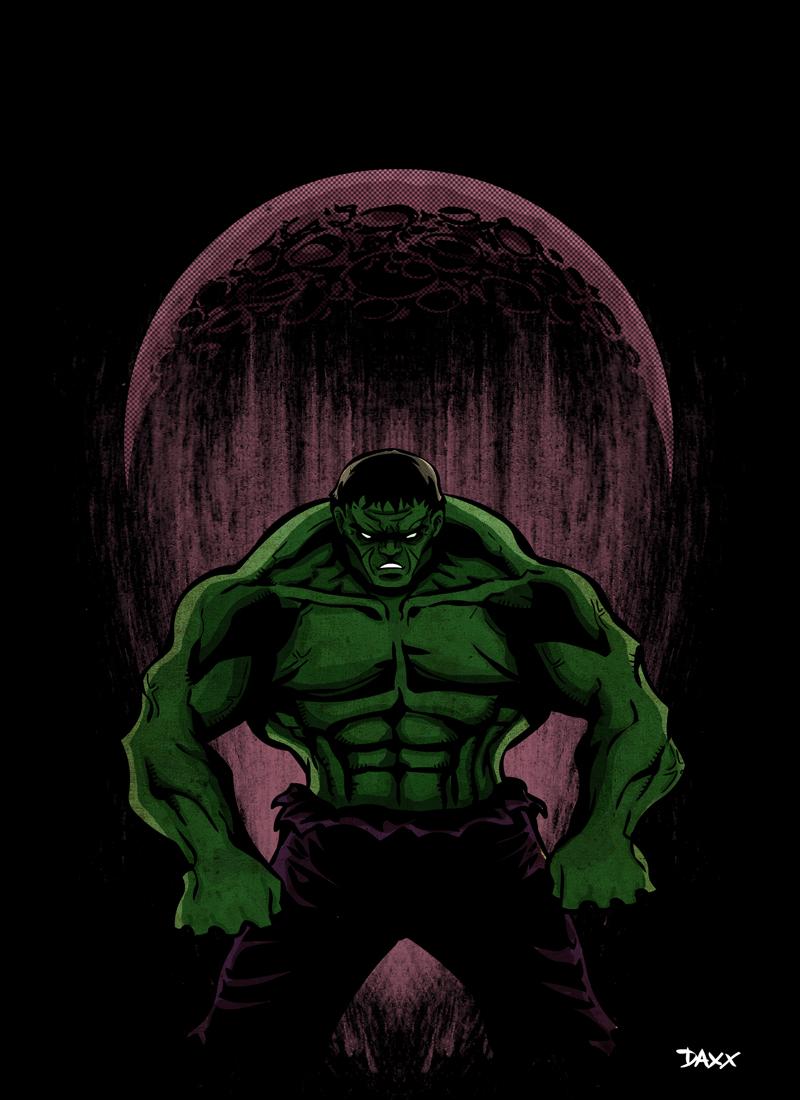 The Hulk - Dark Moon by ~ daxxbondoc