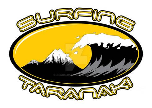 Surfing Taranaki