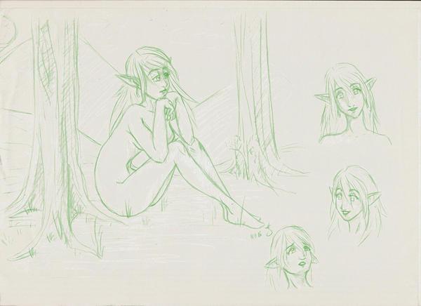 Boceto 6 by KaloaMizu