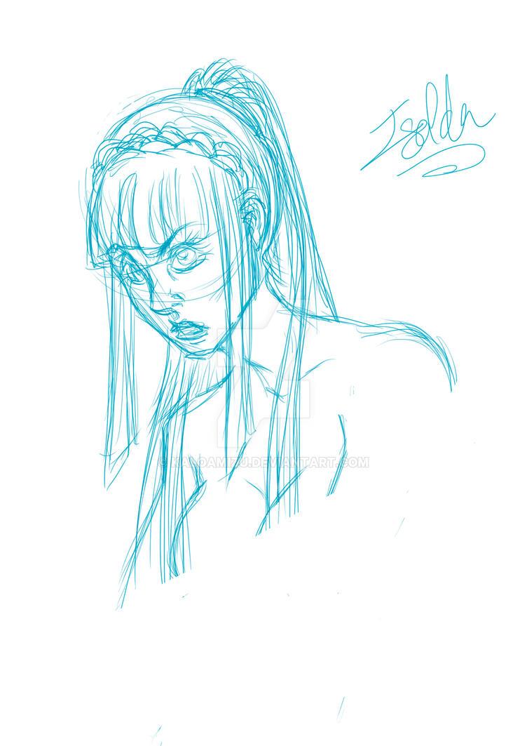 Fiona, Paladin by KaloaMizu