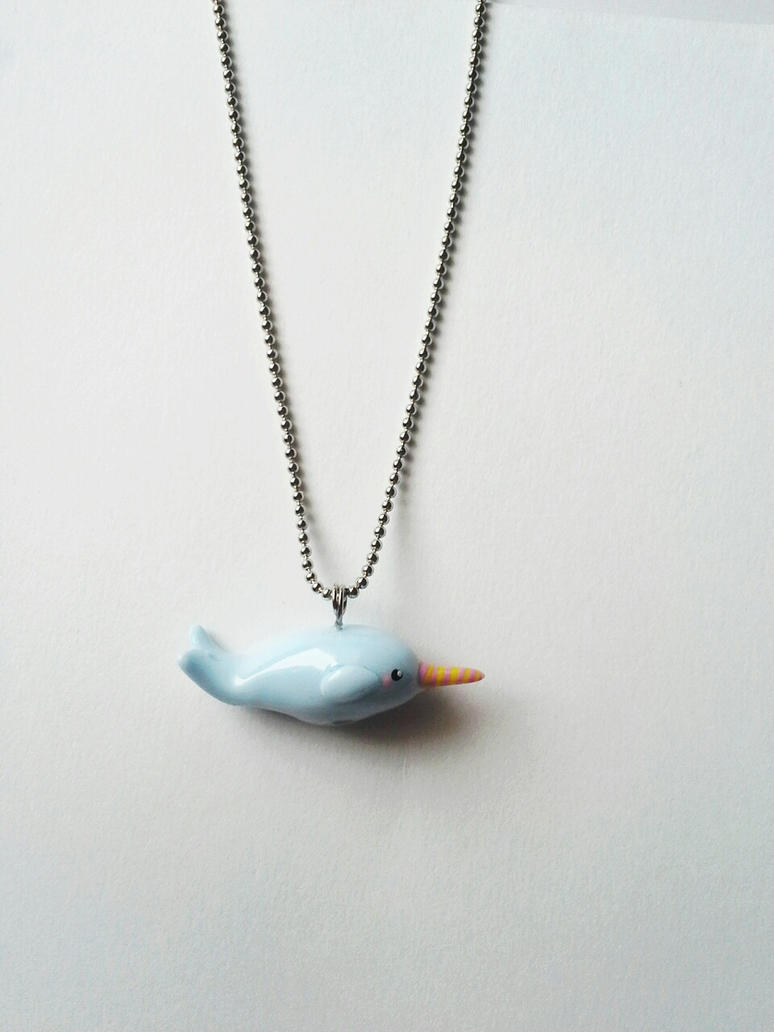 Narwhal Necklace by kikums