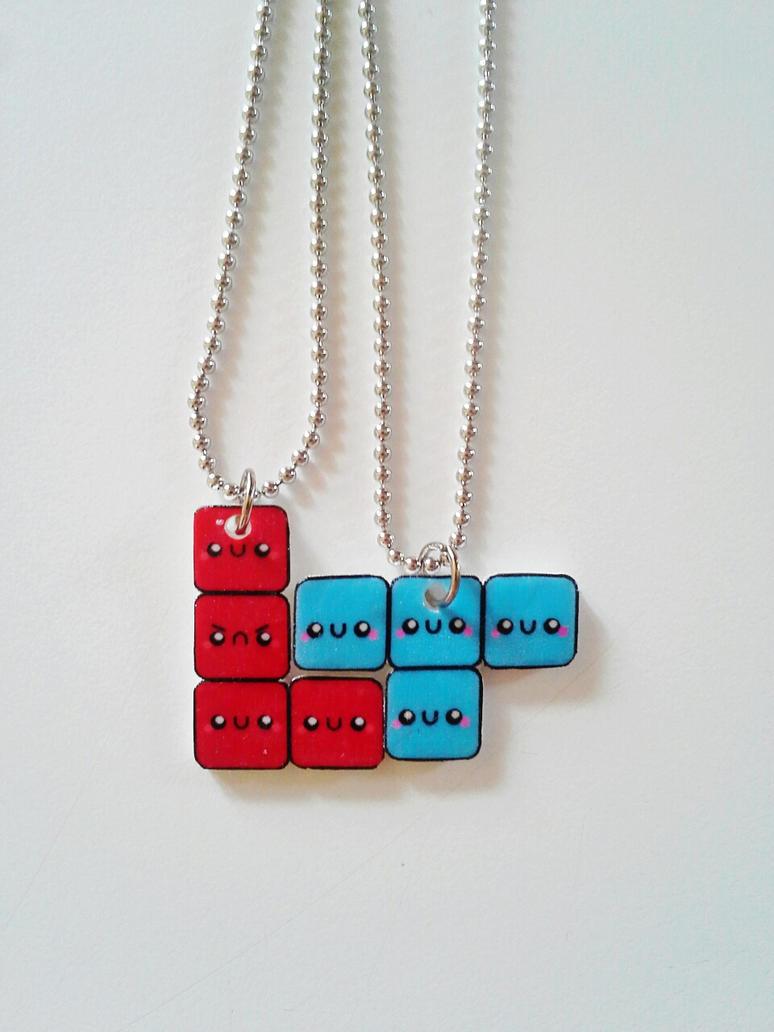 friendship necklaces by kikums on deviantart