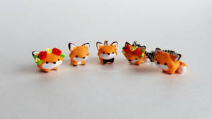 Cute Fox Charms